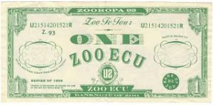 Zooropa Zoo Ecu 1993